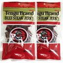 テング ビーフジャーキーレギュラー100g 2袋セット【国産品】【ネコポス便配送】
