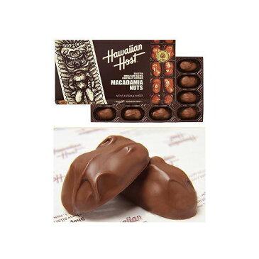 ハワイアンホスト マカダミアナッツ チョコレート 226g(8oz 16粒) (ハワイお土産)