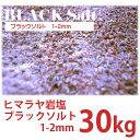 【ヒマラヤ岩塩】 ブラックソルト 1-2mm 30kg 【業...
