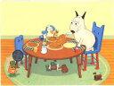 バムとケロ ポストカード おかいもの パンケーキ 【バムケロ】 【バム ケロ】 【キャラクターグッズ】 【RCP】