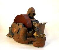 天空の城ラピュタ テープカッター ロボット兵 胸像