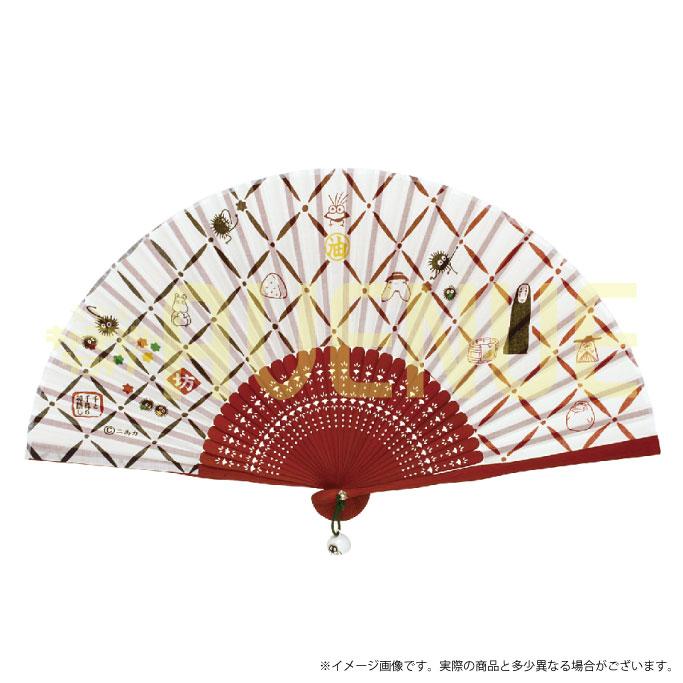千と千尋の神隠し 扇子(格子模様) sentochihiro-157 【千尋】 【ジブリグ…...:hirosue:10015202