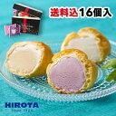 シューアイス スイーツ アイス 詰め合わせ 16個入 9種類 洋菓子のヒロタ HIROTA アイスクリーム おやつ デザート バニラ チョコレート 苺 抹茶 ラムレーズン クッキー クリーム カスタード ヨーグルト レモン 送料込