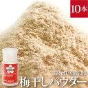 食品 - 天然の焼成岩塩梅干しパウダー(ビオソルト×無農薬梅干し) 携帯用ボトルタイプ30g 10本