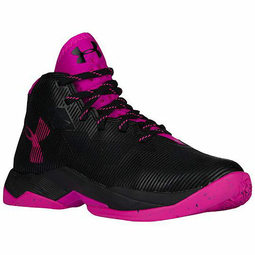 Under Armour アンダーアーマー Curry 2.5 (GS) カリー バスケットボール シューズ ブラック バッシュ キッズ 取り寄せ商品