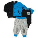 NIKE ナイキ BABY JORDAN Varsity Creeper Pants 3 Piece Set ジョーダン ベビー バーシティ クリーパー パンツ...