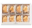 おめでたい亀と梅の形をしたお茶漬け最中8個のギフトセットB(...