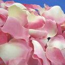 ローズのフラワーシャワー ピーチピンク(アーティフィシャルフラワー約100枚)【結婚式 フラワーガール ペタルシャワー ディスプレイ】