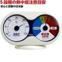 熱中症注意計(温度計+熱中症注意目安) / TM-9781