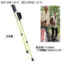 日本製 シナノ あんしん2本杖(2本1組)(18段階調整)ポール・ウォーキング ウォーキング補助ポール トレッキング