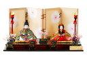 雛人形 木目込み 人気 かわいい おしゃれ ひな人形 優 - ゆう - 親王飾り H3-12SN-008A