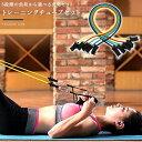 トレーニングチューブ セット トレーニングチューブ フィットネスチューブ 弾性ラテックスチューブ プルロールベルト エクササイズ 強..