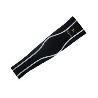 Phiten x EDGE SPORTS Aqua arm supporter 3 white edge sports phiten arm muscles support elbow wrist protective SOFTDARTS