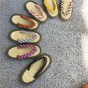イ草を使用した天然素材の草履。可愛い鼻緒選べる8種類♪足裏さ...