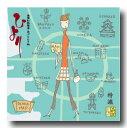 [送料無料] ノーマル特漉あぶらとり紙【大阪限定 大阪Map】大サイズ 1冊