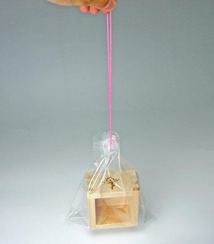 ■【一合枡お持ち帰り用】袋 【披露宴や結婚式のご使用後に】桝用金魚袋