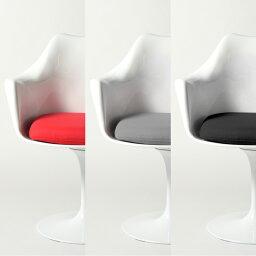 チューリップアームチェア レッド エーロ・サーリネン 【送料無料】 ABS ホワイト デザイナーズ 家具 ラウンジチェア 1人掛け 【業務用】