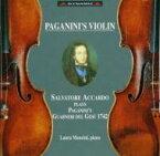 パガニーニのヴァイオリン アッカルド(vn) 輸入盤 【CD】