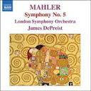 Mahler マーラー / 交響曲第5番 デプリースト&LSO 輸入盤 【CD】