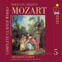 作曲家名: Ma行 - Mozart モーツァルト / 鍵盤作品全集 第5集 ランペ 輸入盤 【CD】