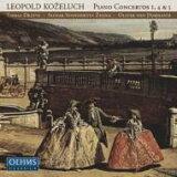 コジェルフ(1747-1818) / ピアノ協奏曲第1, 4, 5番 ドラトヴァ(p)O.V.ドホナーニ&スロヴァキア?シンフォニエッタ 輸入盤 【CD】