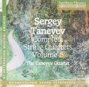 Composer: Ta Line - Taneyev タネーエフ / String Quartet.2: Taneyev Q 輸入盤 【CD】