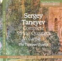 Composer: Ta Line - 【送料無料】 Taneyev タネーエフ / String Quartet.3, 8: Taneyev Q 輸入盤 【CD】