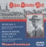 Bach, Johann Sebastian バッハ / Brandenburg Concerto.3, 5: Furtwangler(P) / Vpo +orch.suite.3
