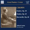 Chopin ショパン / エチュード全曲、舟歌 コルトー(p) 輸入盤 【CD】