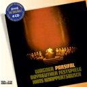 【送料無料】 Wagner ワーグナー / 『パルジファル』全曲 クナッパーツブッシュ&バイロイト、トーマス、ロンドン、ホッター、ダリス、他(1962 ステレオ)(4CD) 輸入盤 【CD】