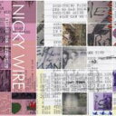 Nicky Wire / I Killed The Zeitgeist 【CD】