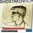 【送料無料】 Shostakovich ショスタコービチ / 弦楽四重奏曲全集[新全集版楽譜使用] ラズモフスキー・クァルテット(5CD) 輸入盤 【CD】