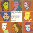 Beethoven ベートーヴェン / 弦楽四重奏曲第13番、大フーガ エンデリオン四重奏団 輸入盤 【CD】