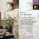 古典 - Verdi ベルディ / 歌劇『椿姫』全曲 ローレンガー、アラガル、F=ディースカウ、マゼール&ベルリン・ドイツ・オペラ  (2CD) 輸入盤 【CD】