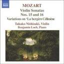 Mozart モーツァルト / ヴァイオリンソナタ集Vol.5 西崎 / ローブ 輸入盤 【CD】