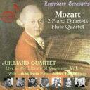 Composer: Ma Line - Mozart モーツァルト / Piano Quartet, 1, 2, : L.foss(P) Juilliard Sq +flute Quartet, 1, : Julius Baker(Fl) 輸入盤 【CD】