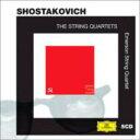 室內樂 - 【送料無料】 Shostakovich ショスタコービチ / 弦楽四重奏曲全集 エマーソンSQ(5CD) 輸入盤 【CD】
