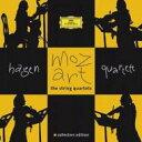 作曲家名: Ma行 - 【送料無料】 Mozart モーツァルト / 弦楽四重奏曲全集 ハーゲン四重奏団(7CD) 輸入盤 【CD】