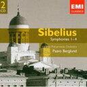 作曲家名: Sa行 - Sibelius シベリウス / 交響曲第1番、第2番、第3番、第4番 ベルグルンド&ヘルシンキ・フィル(2CD) 輸入盤 【CD】