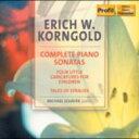 作曲家名: Ka行 - 【送料無料】 Korngold コルンゴルト / Piano Sonata.1, 2, 3, Etc: M.schafer 輸入盤 【CD】