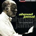 Artist Name: A - Ahmad Jamal アーマッドジャマル / In Concert 輸入盤 【CD】