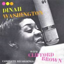 Artist Name: D - Dinah Washington ダイナワシントン / Complete Recordings With Clifford Brown 輸入盤 【CD】