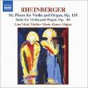 作曲家名: Ra行 - ラインベルガー(1839-1901) / ヴァイオリンとオルガンのための音楽 リネ・モスト(vn)マリ・シナー(org) 輸入盤 【CD】