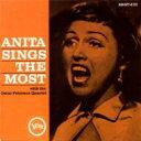 藝人名: A - Anita O'day アニタオデイ / Anita Sings The Most 輸入盤 【CD】
