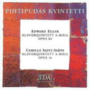 Composer: A Line - 【送料無料】 Elgar エルガー / Piano Quintet: Pihtipudas Quintet +saint-saens 輸入盤 【CD】