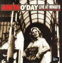 藝人名: A - Anita O'day アニタオデイ / Live At Mingos 輸入盤 【CD】