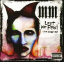 Artist Name: M - Marilyn Manson マリリンマンソン / Lest We Forget: The Best Of 輸入盤 【CD】