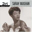 藝人名: S - Sarah Vaughan サラボーン / Best Of 輸入盤 【CD】