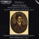Composer: Ta Line - 【送料無料】 ダンツィ(1763-1826) / Wind Quintets Op.68: Berlin Philharmonic Wind Quintet, Derwinger 輸入盤 【CD】