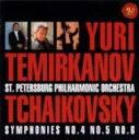 作曲家名: Ta行 - 【送料無料】 Tchaikovsky チャイコフスキー / Sym.4, 5, 6: Temirkanov / St.petersburg.po 【CD】